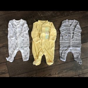3 Baby Sleepers Bundle